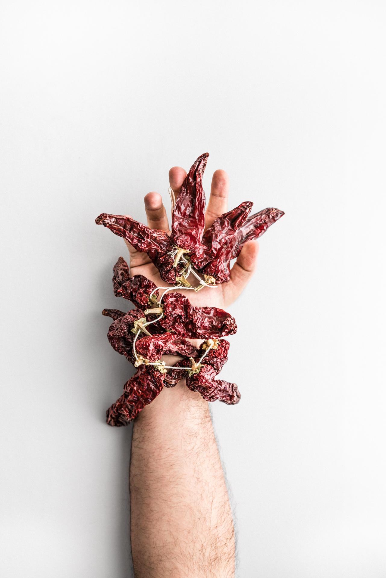 Peperoni cruschi di Luca Bizzarri, infoodfamily, foto di Matteo Bizzarri
