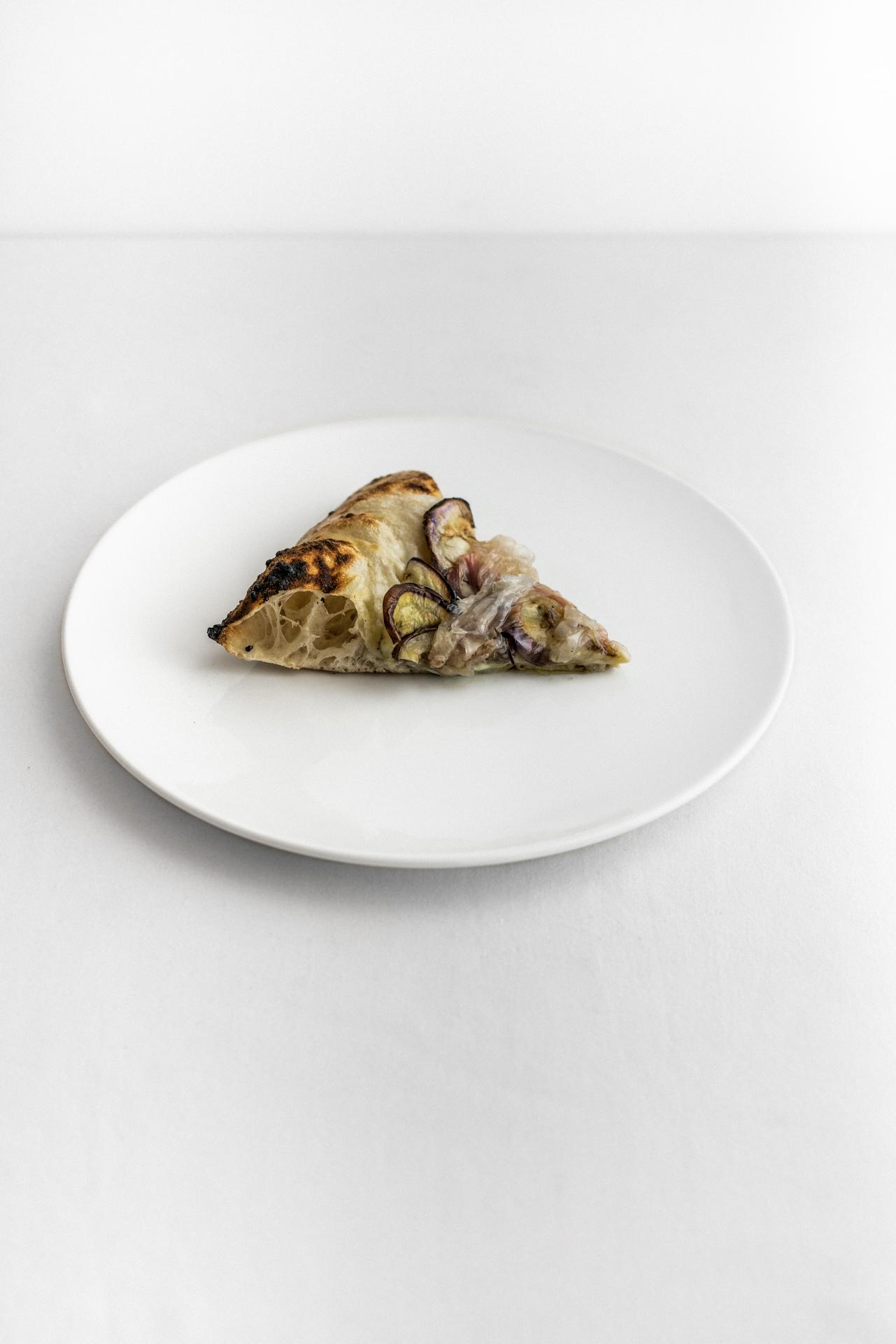 Pizza melanzane e lardo di Luca Bizzarri, infoodfamily, foto di Matteo Bizzarri